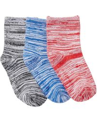 Joe Fresh - Assorted Knit Crew Socks - Pack Of 3 (baby Boys) - Lyst