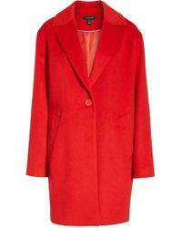 Halogen - (r) Wool Blend Coat (regular & Petite) - Lyst