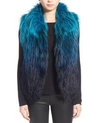 Tasha Tarno   Fox Fur Vest   Lyst