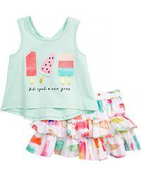 Kate Spade - Summer Treats Tank & Skirt Set (baby Girls) - Lyst