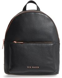 Ted Baker - Pearen Leather Backpack - Lyst