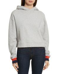 Kule - The Crosby Hooded Sweatshirt - Lyst