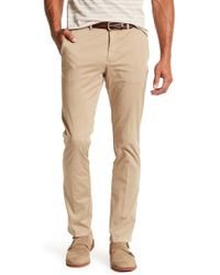 "Thomas Dean - 4 Way Stretch Solid Pant - 30-34"" Inseam - Lyst"