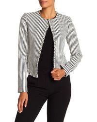 BOSS - Komina Stripe Bouclé Suit Jacket - Lyst