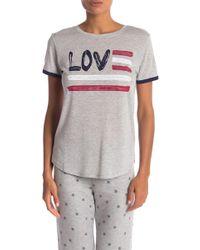Pj Salvage - 76 Love Vibes T-shirt - Lyst