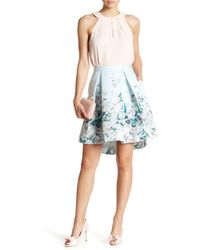 Ted Baker - Reylia Floral Pleated Skirt - Lyst