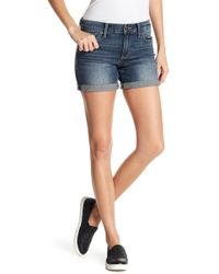 Lucky Brand   The Roll Up Jean Shorts   Lyst