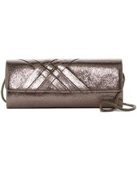 Jessica Mcclintock | Addison Soft Shine Clutch | Lyst