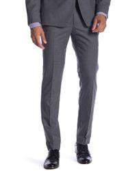 Original Penguin - Medium Grey Solid Suit Separates Trousers - Lyst