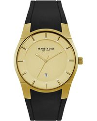 Kenneth Cole - Men's 3 Hand Silicone Strap Watch, 40mm - Lyst