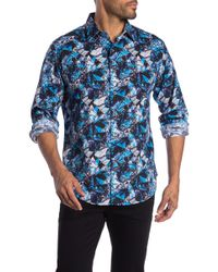 Robert Graham - Trapped Patterned Long Sleeve Classic Fit Shirt - Lyst