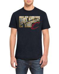 47 Brand - 'cleveland Cavaliers - Scrum' Graphic Crewneck T-shirt - Lyst