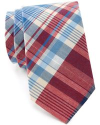 Tommy Hilfiger - Large Plaid Tie - Lyst