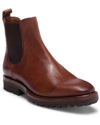 Frye - Weston Lug Leather Chelsea Boot - Lyst