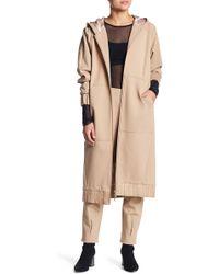 Lime & Vine - Skylar Oversized Hooded Jacket - Lyst