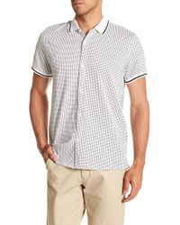 Kenneth Cole - Triangle Printed Shirt - Lyst