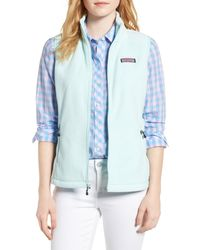 Vineyard Vines - Westerly Fleece Vest - Lyst