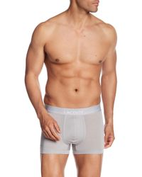 Lacoste - Solid Logo Band Trunk - Lyst
