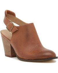 Chinese Laundry - Katrina Leather Slingback Bootie - Lyst