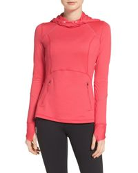 Zella - Run Free Hooded Pullover - Lyst