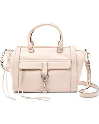 Rebecca Minkoff - Bowery Leather Satchel Tote - Lyst