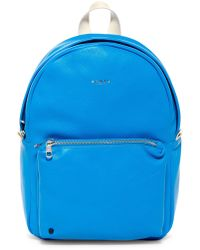 State Bags - Mini Lorimer Leather Contrast Backpack - Lyst