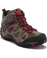 Merrell - Deverta Mid Ventilation Waterproof Hiking Boot - Lyst
