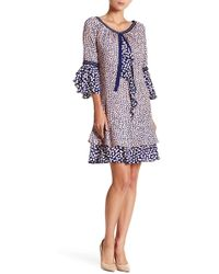 Nanette Nanette Lepore - Confetti Ruffle Dress - Lyst
