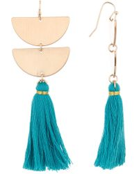 Panacea - Tassel Earrings - Lyst