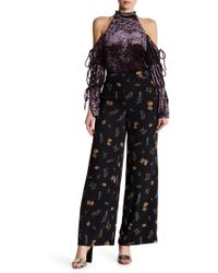 Do+Be Collection - Floral Print Trousers - Lyst