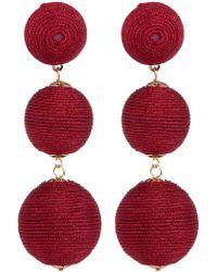 Cara - Multi Sphere Graduated Drop Earrings - Lyst