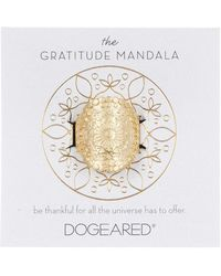Dogeared | The Gratitude Mandala Ring - Size 5 | Lyst