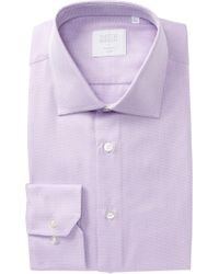 Smyth & Gibson - Brick Weave Tailored Fit Dress Shirt - Lyst