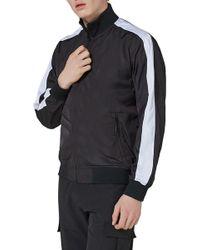 TOPMAN - Sport Track Jacket - Lyst