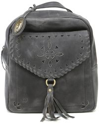 Born - Amherst Perforated Leather Backpack - Lyst