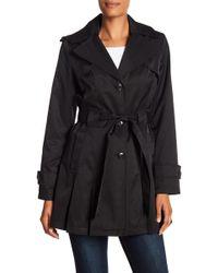 Via Spiga - Trench Coat With Detachable Hood - Lyst