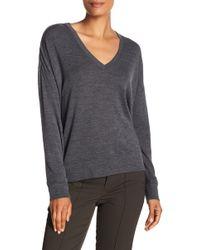 Vince - Wool Drop Shoulder Sweater - Lyst