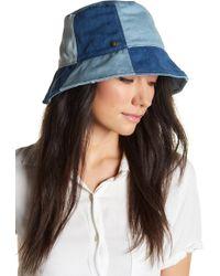 BCBGMAXAZRIA - Denim Bucket Hat - Lyst