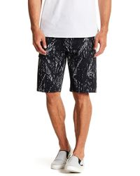 Kenneth Cole - Printed Cargo Shorts - Lyst