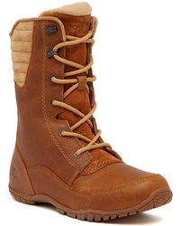 The North Face - Purna Luxe Ambebi Mid-calf Waterproof Leather Boots - Lyst