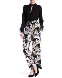 Vince Camuto - Glacier Floral Print Wide Leg Trousers - Lyst