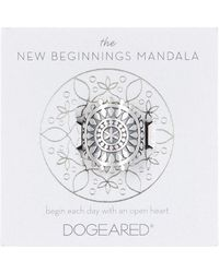 Dogeared - The New Beginnings Mandala Ring - Size 5 - Lyst