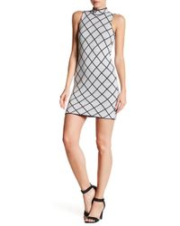 Romeo and Juliet Couture - Sleeveless Print Knit Dress - Lyst