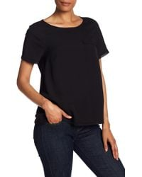 French Connection - Crepelight Basic Tee - Lyst