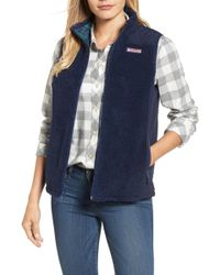 Vineyard Vines - Reversible Quilted Plaid Vest - Lyst