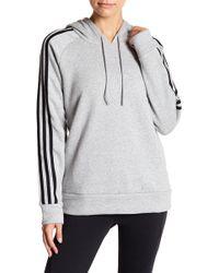 adidas - Essentials Fleece Lined Hoodie - Lyst