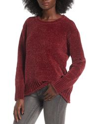 Love By Design - Chenille Pullover - Lyst