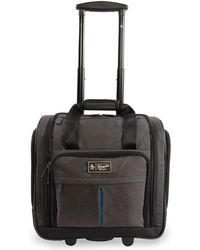 """Original Penguin - Ethan 15"""" Under-the-seat Carry-on Wheeled Luggage - Black - Lyst"""