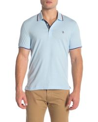 Original Penguin - Contrast Piped Polo - Lyst
