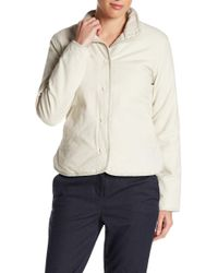 James Perse - Funnel Neck Jacket - Lyst
